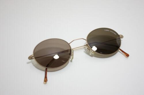Loris Azzaro Vintage Sunglasses Acteur 1000 Round Metal Wire Matte Gold France