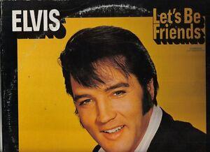 Elvis-Presley-Vinyl-LP-Pickwick-Records-1975-CAS-2408-Let-039-s-Be-Friends