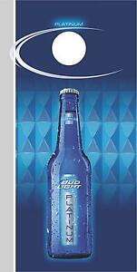 Bud Light Platinum Cornhole Board Game Wrap Decal Set Ebay