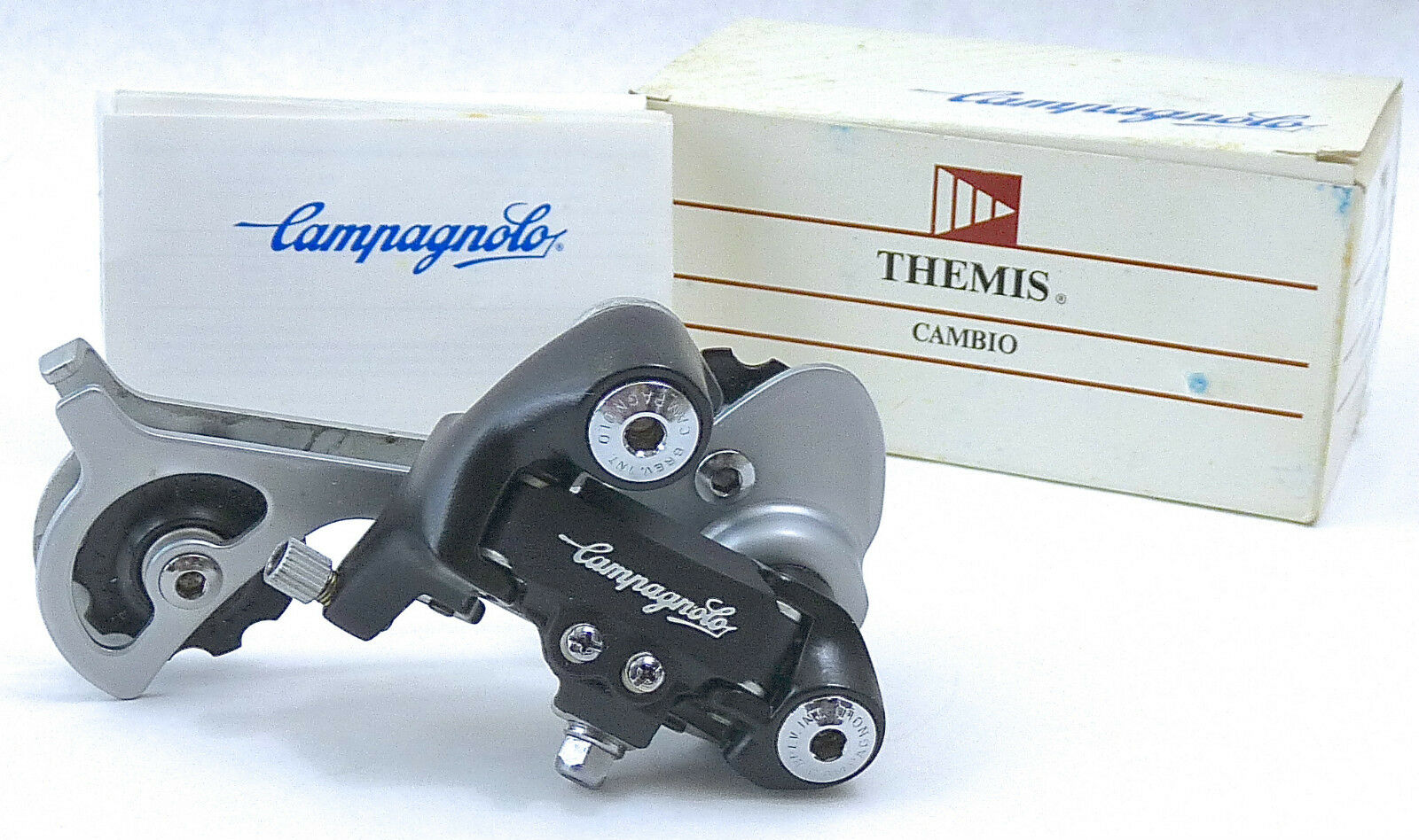Campagnolo Derailleur Themis Ultra Long Cage Vintage Mountain Touring Bike NOS