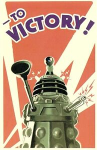 09377-Dr-Who-Dalek-To-Victory-Postcard