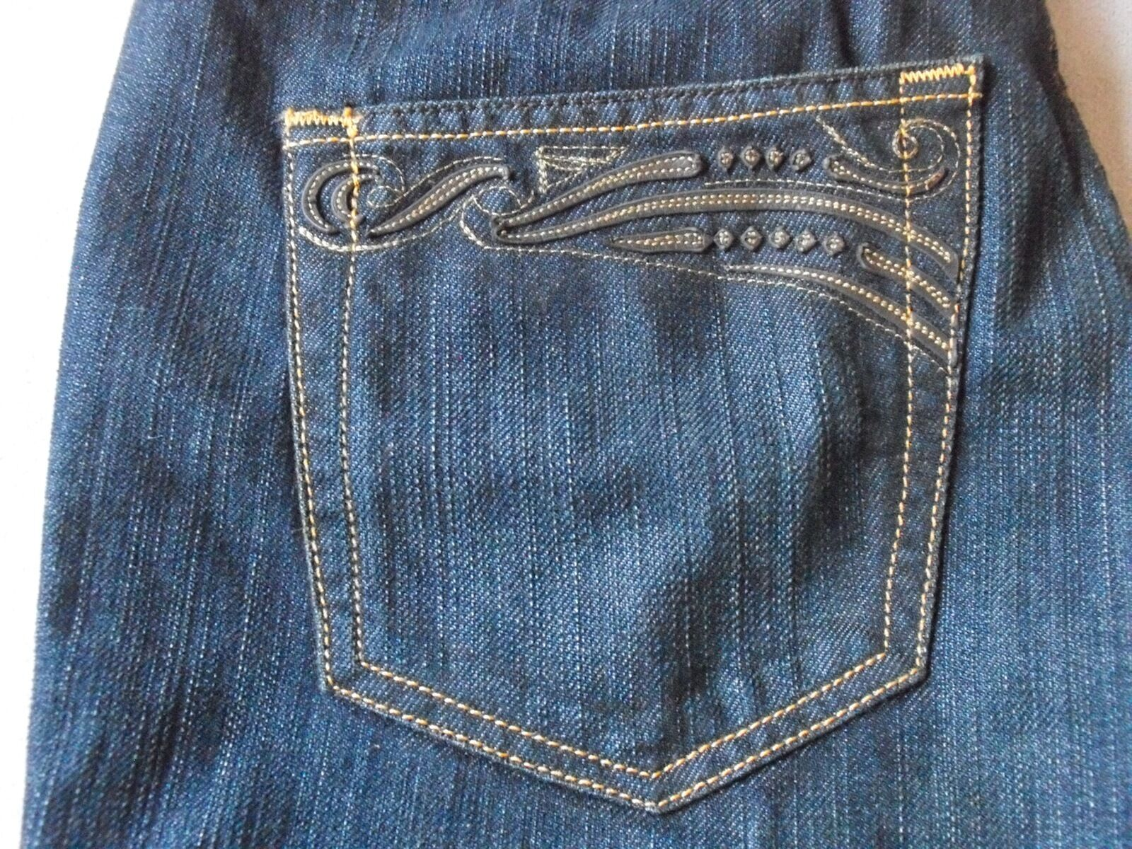 DIESEL RYOTH 8AB RARE WOMENS LOWRISE BOOTCUT JEANS SIZE 30x34 NEW MADE IN ITALY