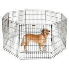 """Pet Trex 2206 30"""" Exercise Playpen with Gate for Cats and Dogs"""