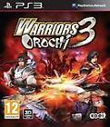 Warriors Orochi 3 (Sony PlayStation 3, 2012) - European Version