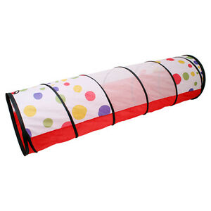 Dot-Design-Pop-Up-Find-Me-Toy-Gift-Play-Tunnel-for-School-Kids-Children-Pets-New
