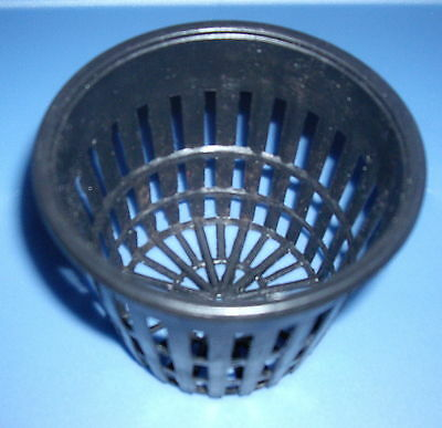 "3"" NET CUP POTS 2/12/25/ 50/100/200  FOR HYDROPONIC GROW BOX SYSTEM KIT"
