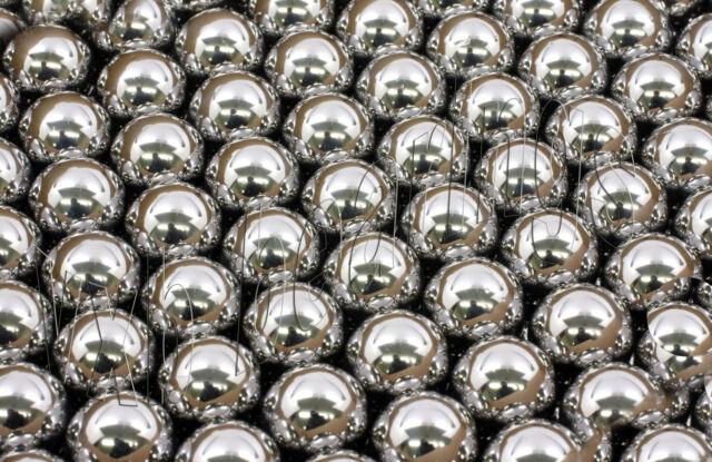 Lot of 250 Dia 3.5mm Diameter Chrome Steel Bearing Balls G25 Quality Small/Mini