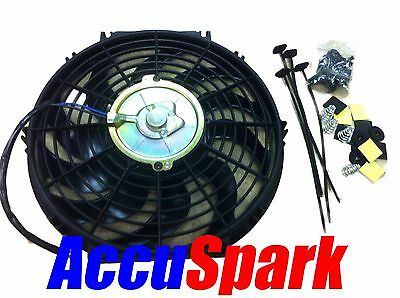 AccuSpark Electric car radiator cooling fan , Universal  12 inch fitting