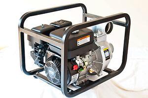 gas water pump powered  kohler sh engine   water pump gasoline