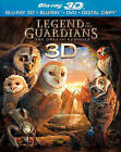 Legend of the Guardians: The Owls of Ga'Hoole (Blu-ray/DVD, 2010, 3-Disc Set, Includes Digital Copy; 3D)