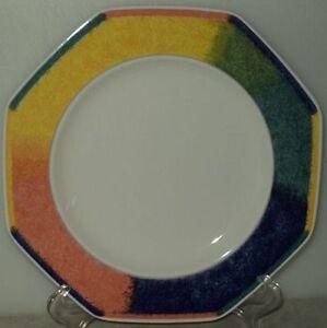 COLOR-ECLIPSE-OCTAGON-PLATE-Mikasa-Gallery-DV016-Multi-Color-Salad-Plate