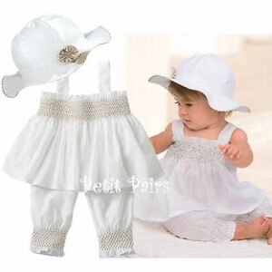 3pcs-Baby-Girl-Kid-Ruffle-Top-Pants-Hat-Set-Outfit-Clothes-Costume-0-24M