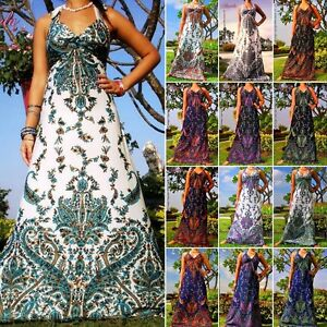 New-ANGELA-Sexy-Evening-Cocktail-Summer-Women-Ladies-Long-Maxi-Dress-6-20-US