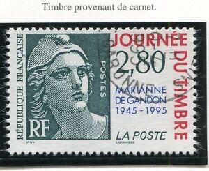 STAMP-TIMBRE-FRANCE-OBLITERE-N-2934-MARIANNE-GANDON-CARNET