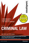 Law Express: Criminal Law (revision Guide) by Emily Finch, Stefan Fafinski (Paperback, 2012)