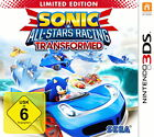 Sonic & All-Stars Racing Transformed -- Limited Edition (Nintendo 3DS, 2012, Keep Case)