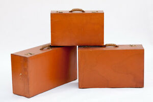 Set-of-Three-Vintage-Abercrombie-amp-Fitch-Leather-Suitcases