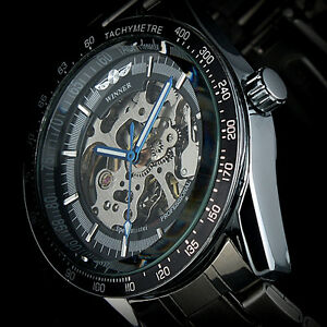 New-Man-Automatic-Mechanical-Skeleton-Mens-Boy-Gift-Stainless-Steel-Wrist-Watch