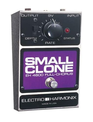 electro harmonix small clone guitar effect pedal for sale online ebay. Black Bedroom Furniture Sets. Home Design Ideas