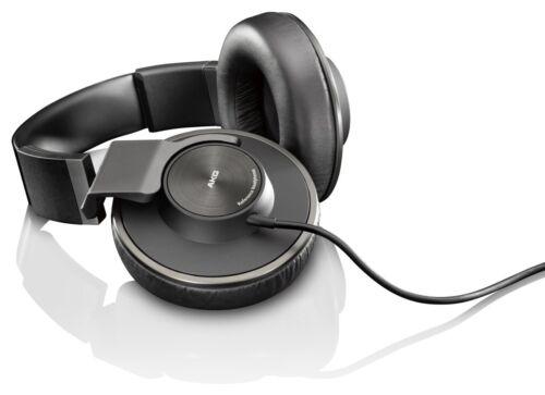 Richer Sounds AKG K550 Hi-Fi Fold Cup, Over Ear Headphones. 3 Metre Cable. Black