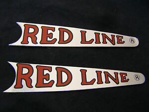REDLINE-DECALS-CRANK-ARM-EARLY-PROTO-TYPE-bmx-cruiser-freestyle-VINTAGE-NOS