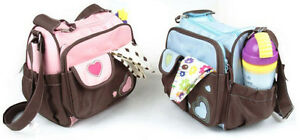 New-Multi-Function-Lovely-Heart-Design-Baby-Diaper-Tote-Shoulder-Bag-Nappy-Bag
