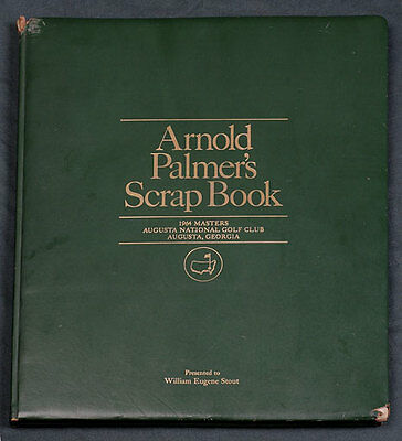 The Masters - Augusta National Golf Club - Arnold Palmer's Scrapbook -1964