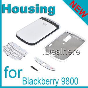 White-Full-Housing-Case-Cover-for-Blackberry-9800
