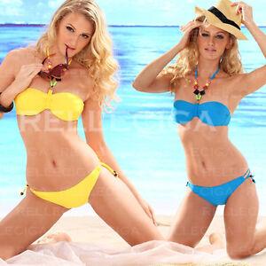 2012-NEW-Sexy-Halter-Top-Slide-String-Bikini-with-Jewel-Swimwear-Monokini-7COLOR