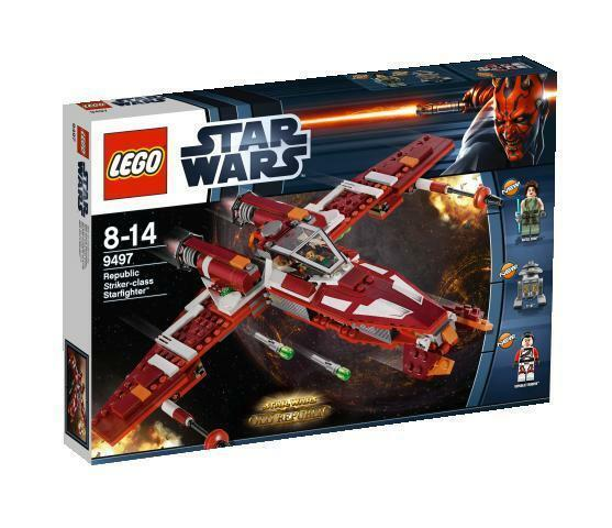 LEGO Star Wars Republic Striker-class Starfighter  9497