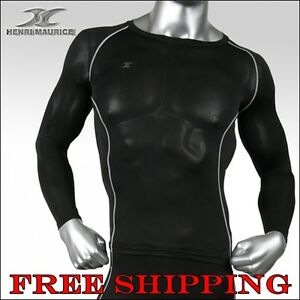 Mens-muscle-Compression-Shirts-Top-BASE-LAYER-slim-fit-sports-Gear-Armour-tight