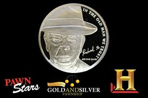 Pawn-Stars-Old-Man-71st-Birthday-Silver-Round-1-Troy-Ounce-999-Fine-Silver-Coin