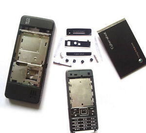 New-Black-Housing-Case-For-Sony-Ericsson-SE-C902-C902i-Keypad-T6