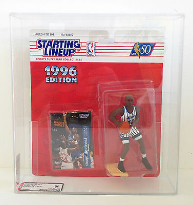 Shaquille O'Neal Kenner Starting Lineup 1996 NBA Action Figure AFA Graded 80