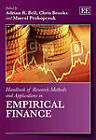 Handbook of Research Methods and Applications in Empirical Finance by Edward Elgar Publishing Ltd (Hardback, 2013)