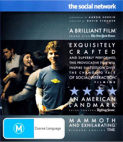Social Network (Blu-ray, 2011)