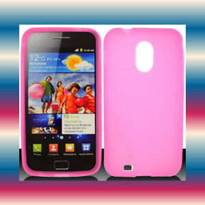 Silicon-Pink-Samsung-Galaxy-S-2-II-Epic-Touch-4G-SPH-D710-Soft-Cover-Case-Skin