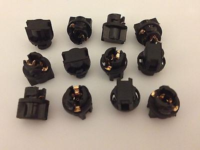 Fits Suzuki 3/8 Instrument Panel Socket 9mm Cluster Plug Dash Light Bulb LED NOS