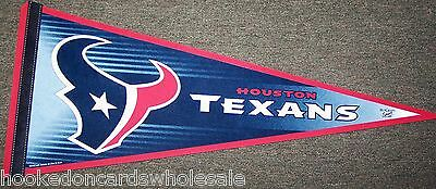 Houston Texans Pennant NFL Brand New Full Size - no hang tag