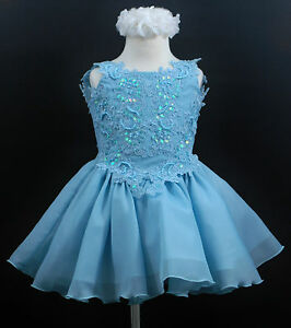Blue dress 2t girls