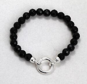 thomas sabo addition armband mit ringverschluss obsidian. Black Bedroom Furniture Sets. Home Design Ideas