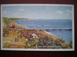 POSTCARD DORSET BOURNEMOUTH  THE BAY - <span itemprop=availableAtOrFrom>Tadley, United Kingdom</span> - Full Refund less postage if not 100% satified Most purchases from business sellers are protected by the Consumer Contract Regulations 2013 which give you the right to cancel the purchase w - Tadley, United Kingdom