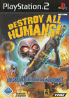Destroy All Humans (Sony PlayStation 2, 2005, DVD-Box)