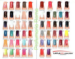LAYLA-GEL-POLISH-Smalto-UV-Semipermanente-Removibile-SOAK-OFF-COLORE-A-SCELTA