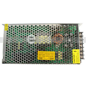AC-to-DC-24V-5A-120W-Regulated-Switching-Power-Converter-Supply-Silver