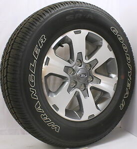 """F150 Bolt Pattern >> 2013 Ford F150 FX2 FX4 Expedition 18"""" Wheels Rims Goodyear Tires New Take Off   eBay"""