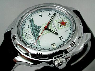 RUSSIAN  VOSTOK MILITARY KOMANDIRSKIE WATCH  # 211428 ! NEW
