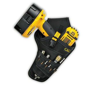 Custom-LeatherCraft-CLC-5023-Cordless-Drill-Holster-Tool-Belt-Pouch-Holder
