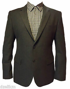 NWT-595-Hugo-Boss-Black-Label-Cotton-Sport-Coat-Jacket-Size-S-38R-48INT
