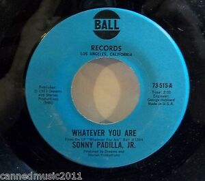 Sonny-Padilla-Jr-Dreams-and-Stories-Whatever-You-Are-new-unplayed